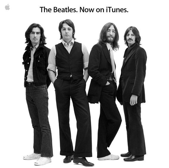 Beatles en iTunes