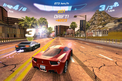Asphalt 6: Adrenaline disponible para iOS