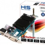 HIS Radeon HD 5450 Silence, PCI-Express x1