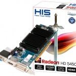 HIS lanza Radeon HD 5450 con conexión PCI