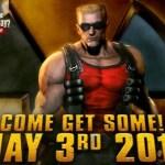 Duke Nukem Forever se lanza oficialmente el 3 de Mayo