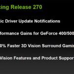GeForce 270.51 beta drivers, con una tonelada de mejoras