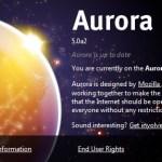 Firefox 5.0 Preview disponible, inaugurando el canal Aurora!