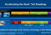 """Atoms de 22nm con """"Out-of-Order"""" el 2012 y 14nm el 2014"""