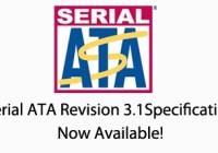 Especificaciones Serial ATA Rev. 3.1 publicadas