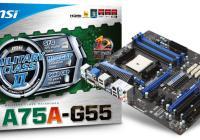 MSI anuncia la A75A-G55 (FM1)