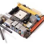 Zotac A75-ITX WiFi, placa FM1 en formato mini-ITX