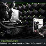 Compra una GTX de Nvidia y llevate a casa Batman Arkham City