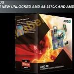 AMD A8-3870K y A6-3670K también llegan el 26 de diciembre