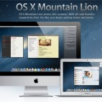 Apple lanzará OSX 10.8 Mountain Lion mañana (25/07/2012) a $19.99USD