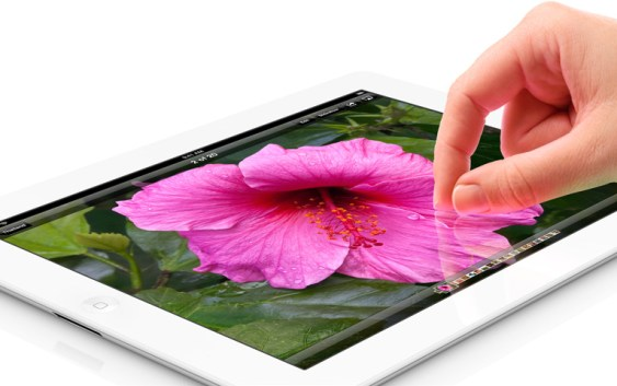 Apple presenta el iPad 3 con pantalla Retina Display de 2048 x 1536 píxeles