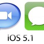 ¿Problemas con iMessage y Facetime en iOS 5.1?