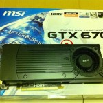 MSI GeForce GTX 670 revelada con un detalle