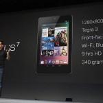 Google anunció Nexus 7, tablet con Android 4.1