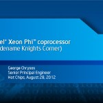 Intel revela destalles de la arquitectura MIC de Xeon Phi (Knights Corner)