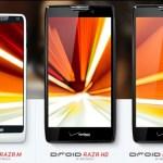 Motorola anuncia el DROID RAZR M, DROID RAZR HD y DROID RAZR Maxx HD