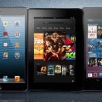 Comparativa: iPad Mini vs Kindle Fire HD vs Nexus 7