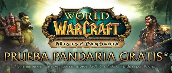 Versión de prueba de World of Warcraft: Mists of Pandaria ya está disponible.