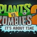 Plantas vs. Zombies 2 ya está disponible GRATIS en la AppStore