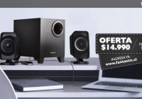 Parlantes Creative Inspire 2.1 a un precio exclusivo para MadBoxpc.com