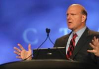 Steve Ballmer anuncia su retiro como CEO de Microsoft luego de 33 años de servicio