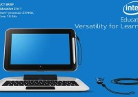 """Intel revela su convertible para educación """"Intel Education 2-in-1"""" con Windows 8.1"""