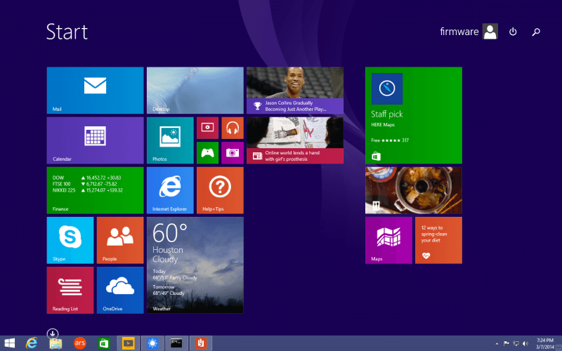 Windows 8.1 Update 1 se lanza el próximo 8 de abril, Menú Inicio llegará más tarde