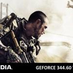 NVIDIA lanza los GeForce 344.60 WHQL para Call of Duty: Advanced Warfare