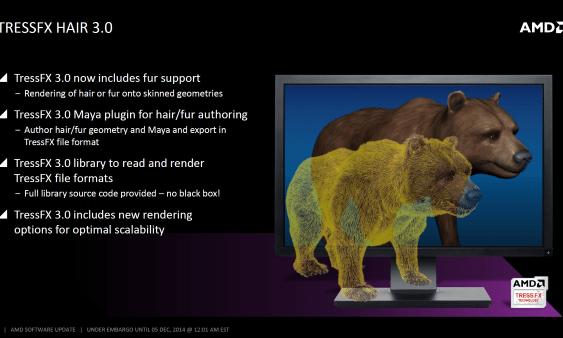 AMD anuncia su tecnología TressFX HAIR 3.0