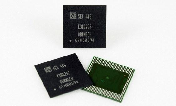 Samsung inicia producción en masa de memorias móviles DRAM LPDDR4 de 8Gb