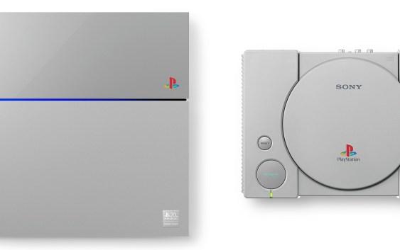 Sony lanza PlayStation 4 Edición 20° Aniversario con estilo PlayStation original