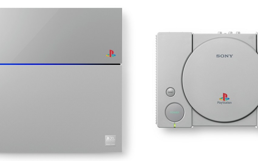 Sony lanza PlayStation 4 Edición 20° Aniversario con estilo PlayStation original