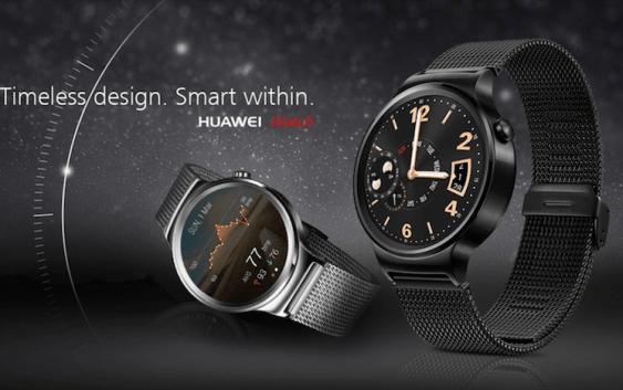 #MWC15 Huawei presentó su nuevo 'Huawei Watch' y se ve Increíble.