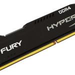 HyperX amplía su línea, lanza memoria FURY DDR4 y kits Predator DDR4 de 32GB y 64GB