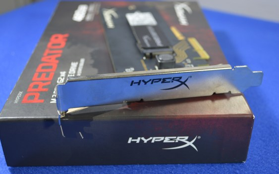 Review Kingston HyperX Predator SSD M.2 PCIe 480GB
