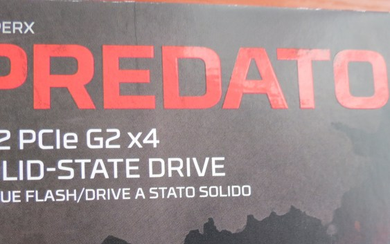 Análisis SSD M.2 PCIe HyperX Predator 480GB (SHPM2280P2H) en AMD