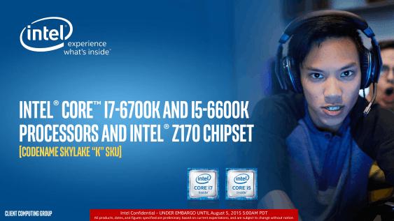 Intel lanza sus procesadores Core i7-6700K y Core i5-6600K (Skylake) – Reviews