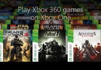 Estos son los primeros 104 juegos de Xbox 360 compatibles con la Xbox One