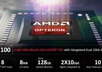 AMD y sus principales partners dan la bienvenida al nuevo chip Opteron™ A1100 SoC al mercado ARM de 64bits para Data Centers