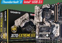 GIGABYTE Anuncia la Certificacion de la Primera Motherboard a nivel mundial con Intel Thunderbolt 3 y Chipet C236