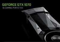 Especificaciones oficiales de la NVIDIA GeForce GTX 1070