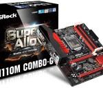 ASRock anuncia disponibilidad de sus motherboards con chipset H110 para la 6ª generación de procesadores Core de Intel