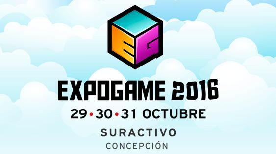 Evento: Expogame 2016 –  29 al 31 de octubre, espacio Suractivo de Concepción