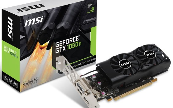 MSI anuncia su GeForce GTX 1050 Ti Low Profile