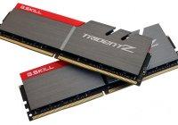 G.SKILL anuncia el Kit de 64GB (4x16GB) más rápido de su familia TridentZ DDR4