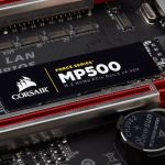 Review Corsair Force MP500 (240GB) el primer SSD M.2 NVMe de Corsair