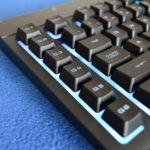 Review Corsair K55 RGB Gaming Keyboard.