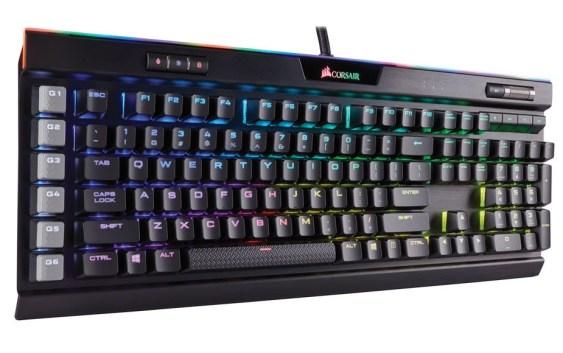 CES 2017: Corsair lanza nuevo buque insignia a lo que teclado gamer se refiere, el Corsair K95 RGB Platinum