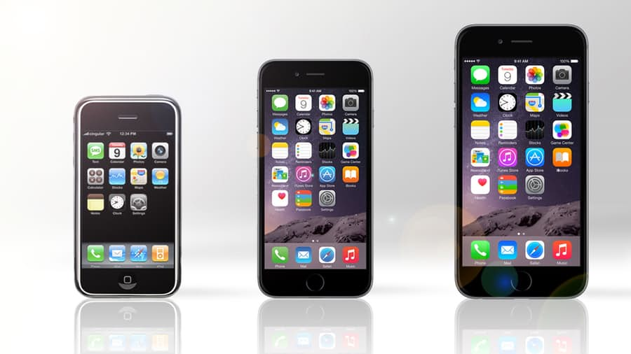 iphone-1-vs-iphone-6-vs-iphone-6-plus