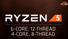 AMD Ryzen 5 llegará el 11 de Abril, Gaming a 1080p por menos de $250USD